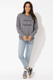 Suburban riot Favorite Daughter Sweatshirt - Front cropped