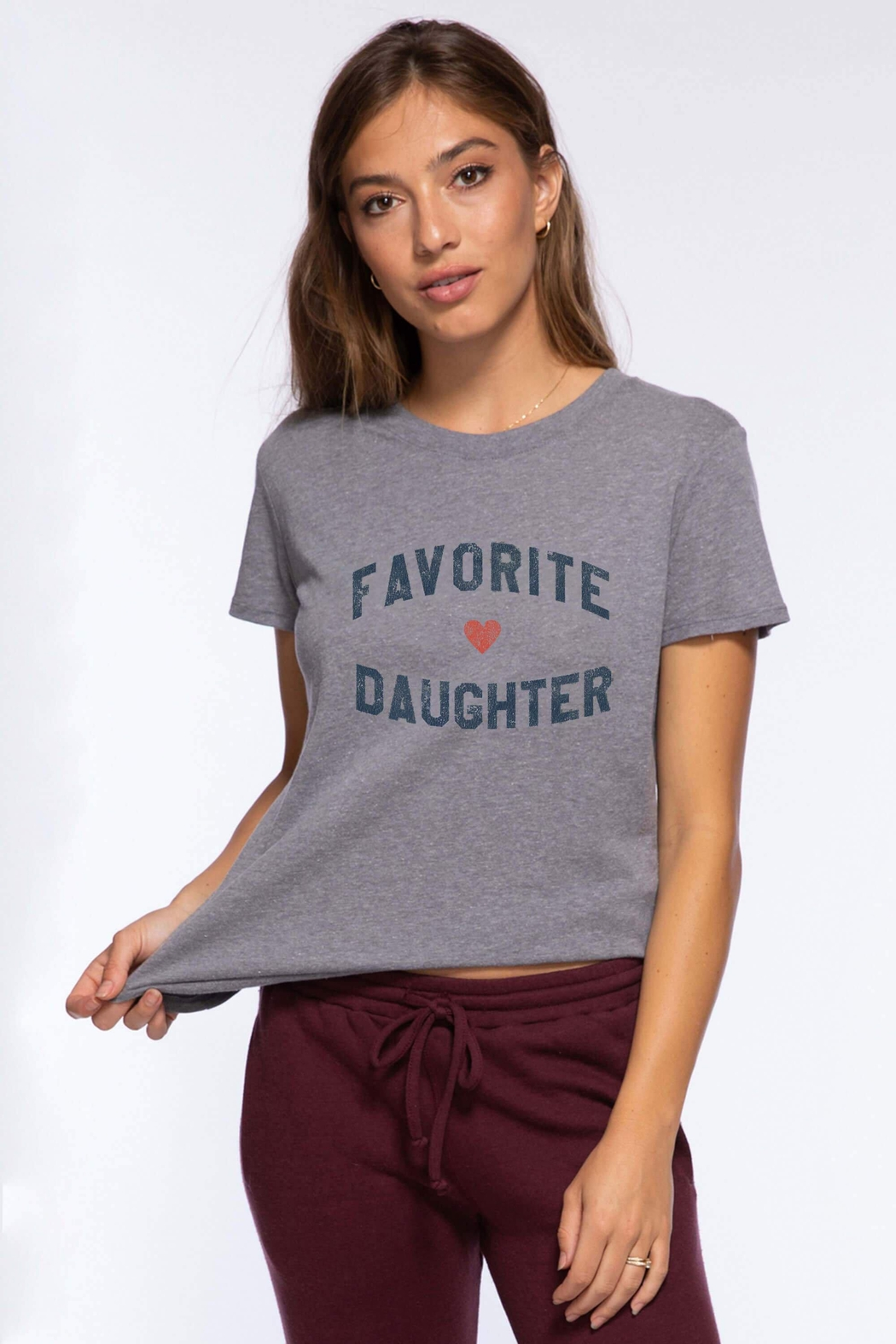 Suburban riot Favorite Daughter Tee - Front Cropped Image