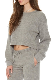 Suburban riot Gigi Crop Sweatshirt - Front full body