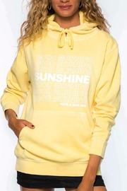 Suburban riot Goodmorning Sunshine Hoodie - Front cropped