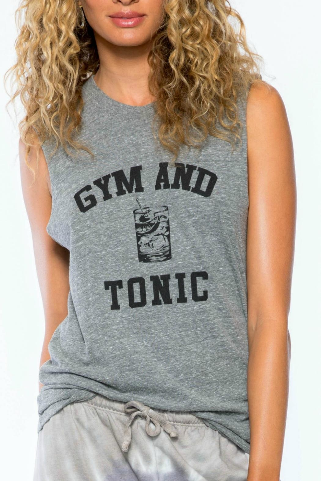 Suburban riot Gym & Tonic Tank - Front Cropped Image