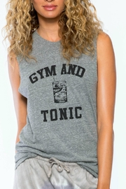 Suburban riot Gym & Tonic Tank - Front cropped
