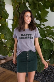Suburban riot Happy Camper Tee - Front cropped