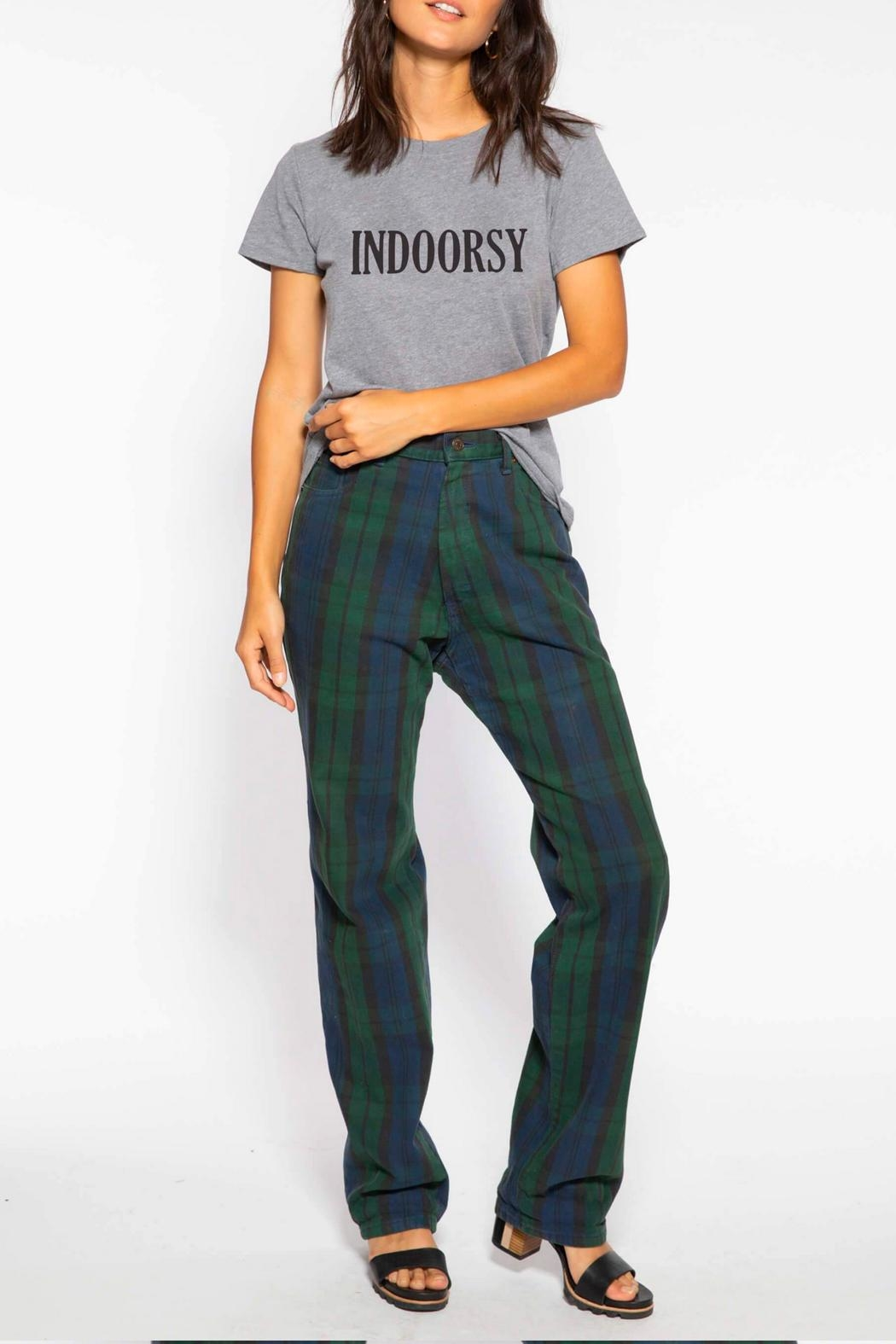 Suburban riot Indoorsy Loose Tee - Front Full Image