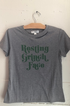 Shoptiques Product: Resting Grinch Face Tee