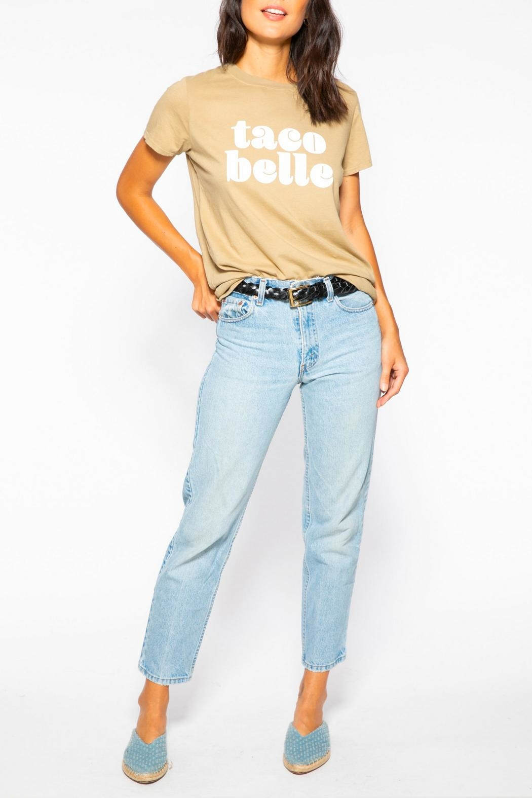 Suburban riot Taco Belle Tee - Front Full Image
