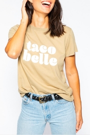 Suburban riot Taco Belle Tee - Front cropped