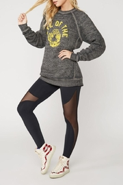 Suburban riot Tiger Burnout Pullover - Front full body