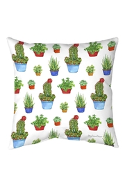 Manual Woodworkers and Weavers Succulent Pillow - Front cropped