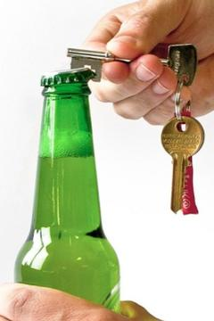 Suck UK Bottle Opener Keyring - Alternate List Image