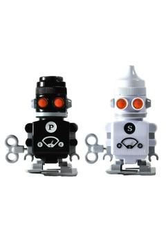 Suck UK Salt & Pepper Robots - Alternate List Image