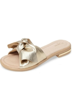 Sudini Leather Bow Sandal - Product List Image