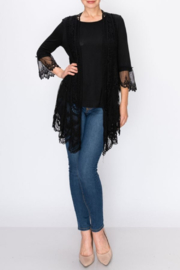 Origami  Suductive Lace Jacket - Front cropped