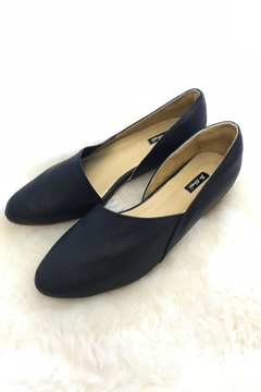 Be Mae Shoes Sue Leather Flats - Alternate List Image