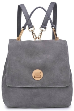 Moda Luxe Suede Backpack - Alternate List Image