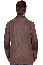 Scully  Suede Blazer - Front full body