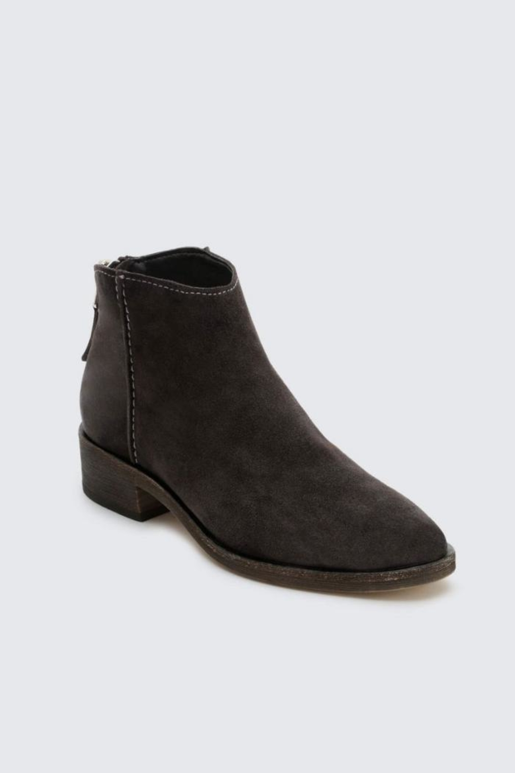 Dolce Vita Suede Bootie - Front Full Image
