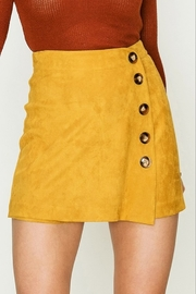 HYFVE Suede Button Skort - Product Mini Image