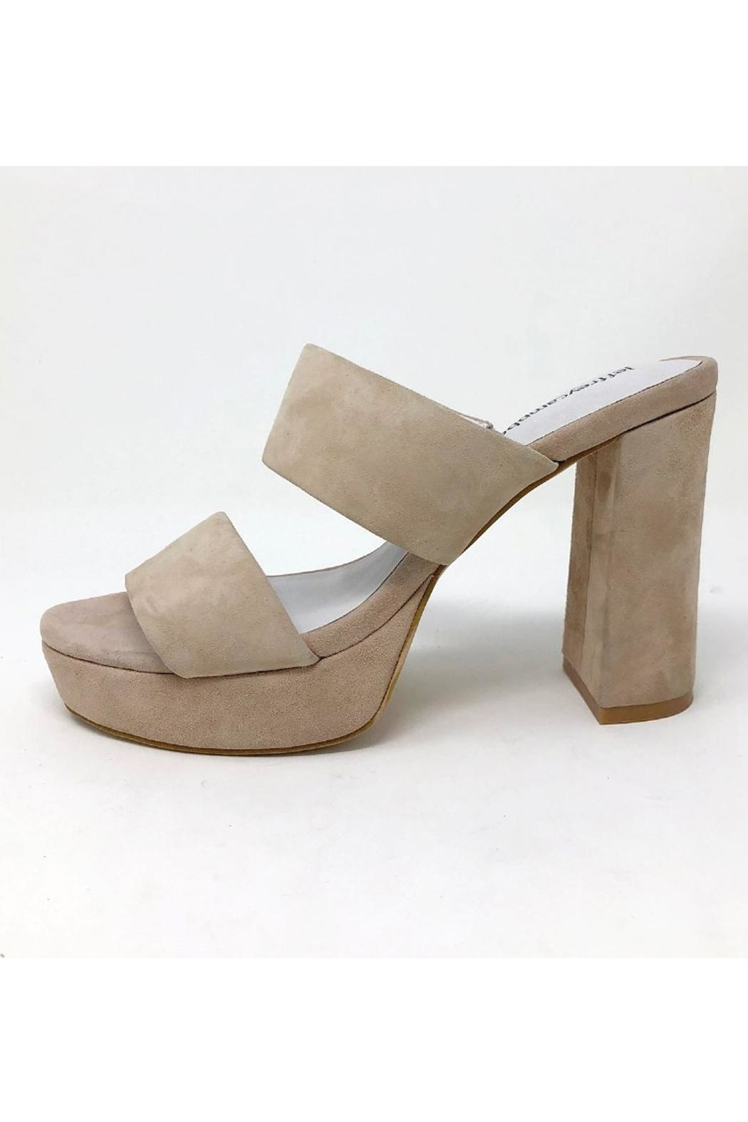 bfed6bdffcd2 Jeffrey Campbell Suede Chunky Heel from South Carolina by Baehr Feet ...