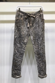 Venti 6 Suede Crinkle Jogger - Product Mini Image
