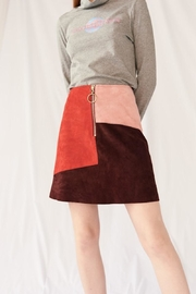 M.i.h Jeans Suede Dalary Skirt - Product Mini Image