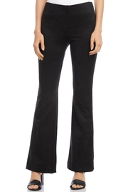 Fifteen Twenty Suede High Waisted Bootcut Pant - Product Mini Image