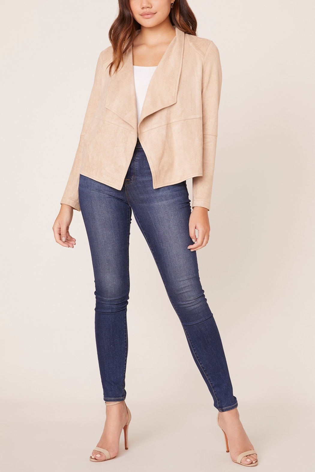BB Dakota Suede It Out Faux Suede Jacket - Main Image