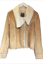 Hem & Thread Suede Jacket - Product Mini Image