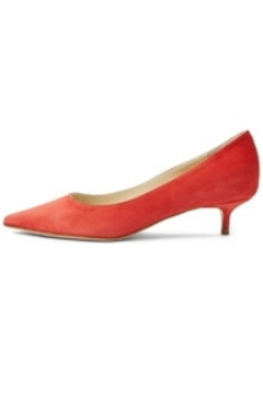 Shoptiques Product: Suede Kitten Heel