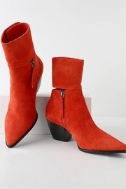 Matisse Suede Leather Bootie - Front cropped