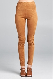 Ellison Suede Legging - Product Mini Image