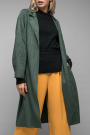 Do & Be Suede long coat - Product Mini Image