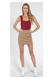 Polly & Esther Suede Mini Skirt - Product Mini Image