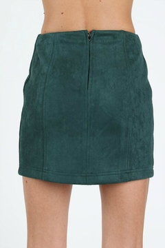 Pretty Little Things Suede Mini Skirt - Alternate List Image