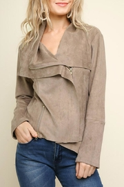 Umgee Suede Moto Jacket - Product Mini Image