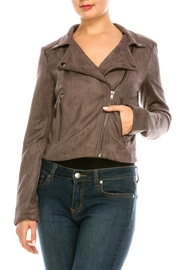 Do & Be Suede Moto Jacket - Product Mini Image