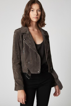Blank NYC Suede Moto Jacket - Product List Image