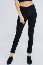 Cezanne Suede Moto Leggings - Other