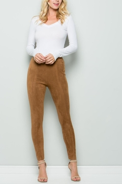 Unknown Factory Suede Pants - Product List Image