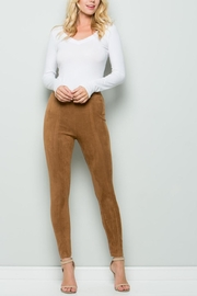 Unknown Factory Suede Pants - Product Mini Image