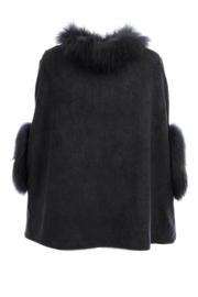 Dolce Cabo Suede Poncho - Product Mini Image