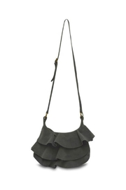 MHGS Suede Ruffle Bag - Product Mini Image