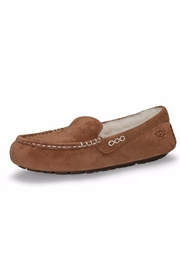 UGG Australia Suede Shearling Slipper - Front cropped