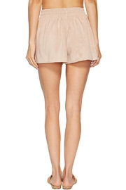 Bishop + Young Suede Short - Front full body