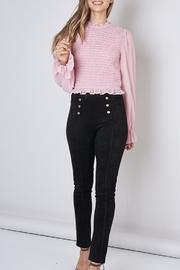 Do & Be Suede Skinny Pant - Product Mini Image