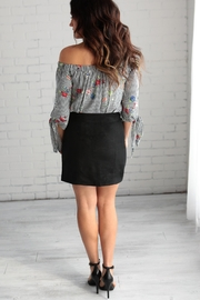 crescent Suede Skirt - Other
