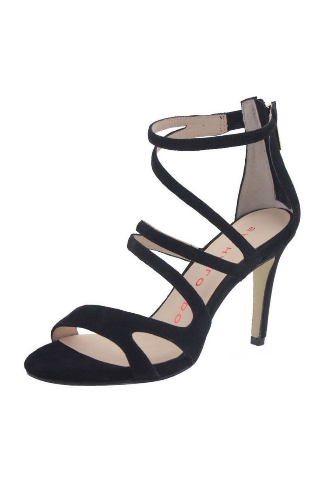 Sacha London Suede Strappy Sandal - Main Image