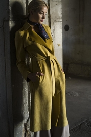 Jane Suede Trench Coat - Product Mini Image