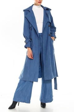TCEC Suede Trench Coat - Product List Image
