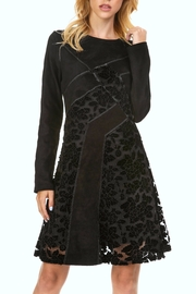 Adore Suede Velvet Dress - Product Mini Image